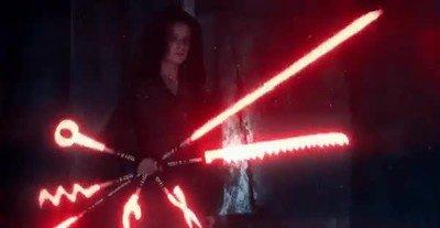 Enlace a Rey está lista para cualquier cosa en el nuevo tráiler de Star Wars