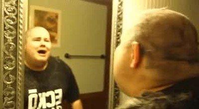 Enlace a Cuando me miro después de decirle al peluquero que solo me recorte las puntas