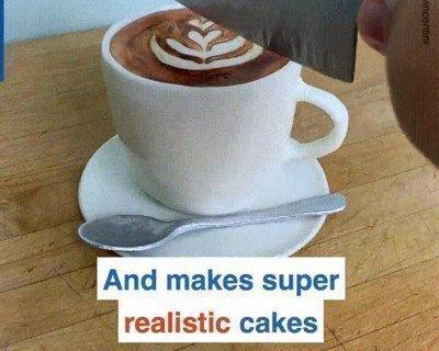 Me explota la cabeza con estos pasteles tan realistas