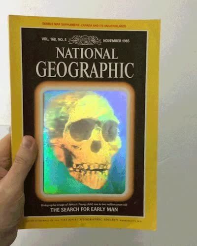 Enlace a La portada de 1985 del National Geographic