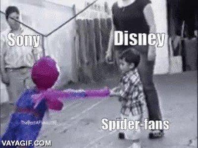Enlace a Los fans de Spiderman estas últimas semanas