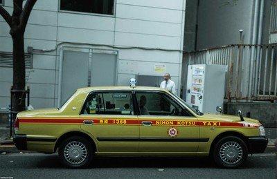 Enlace a Todos los colores de taxis en Japón