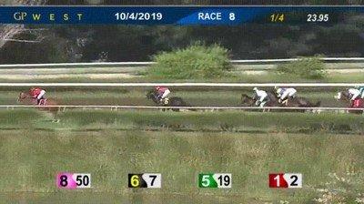 Enlace a Extraña desaparición de un jokey en una carrera de caballos