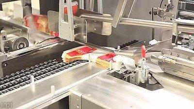 Así se empaqueta el pan que luego encontramos en las tiendas