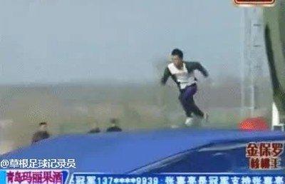 Sin duda es uno de los hombres más rápidos que he visto nunca