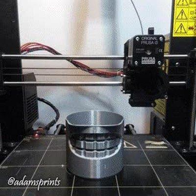 Enlace a Una genial impresión 3D de la cabeza de Bender