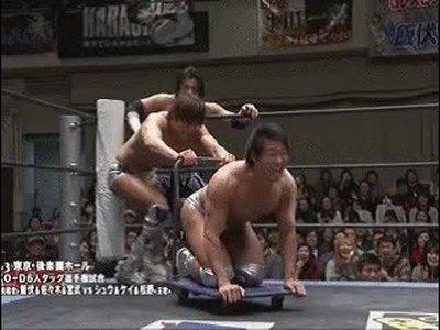 Enlace a En Japón nos llevan años de ventaja. También para el wrestling