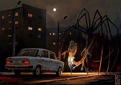 Enlace a ¿Qué harías si vas conduciendo de noche y te encuentras con esto?
