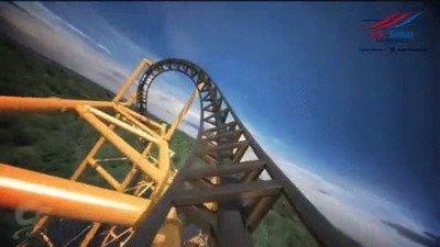 Enlace a ¿Te atreverías a subirte en esta montaña rusa?