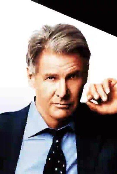 Enlace a El rostro de Harrison Ford girando utilizando 32 pósters