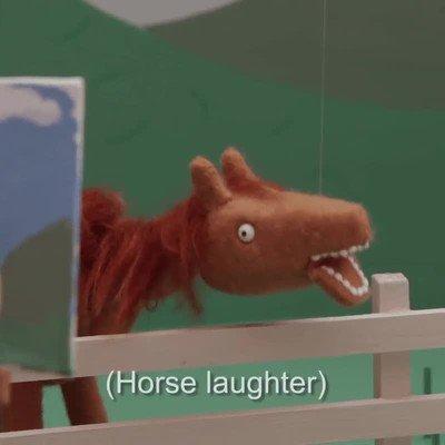 Enlace a No se cómo se rie un caballo pero esto es perturbador
