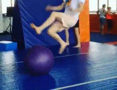 Enlace a Lo nunca visto en las pelotas de gimnasio