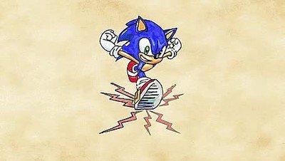 Enlace a No me imaginaba de esta forma el paste oficial de Sonic