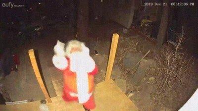 Enlace a Creo que Papa Noel se ha cansado de repartir regalos