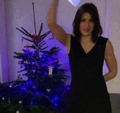 Enlace a Una de las formas más originales de desear una feliz navidad