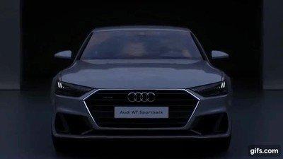 Enlace a Las luces del nuevo Audi A7 son una pasada