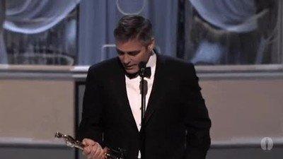 Enlace a El momento en el que George Clooney hizo magia con su Oscar