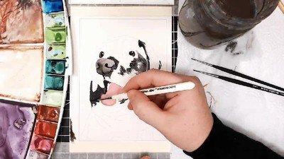 Enlace a Time lapse del dibujo que acabo de hacer de mi mejor amigo