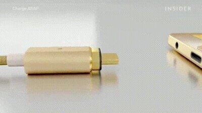 Enlace a Con este invento se acabó pelea por conectar los cables