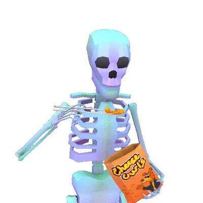 Enlace a El problema de comer cuando eres un esqueleto