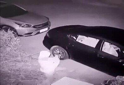Enlace a Karma actuando contra quien intenta romper el cristal de un coche