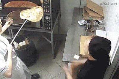 Enlace a Decididamente esa no es la forma de tratar a una pizza