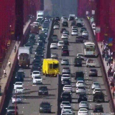 Enlace a Esto es la cremallera del Golden Gate