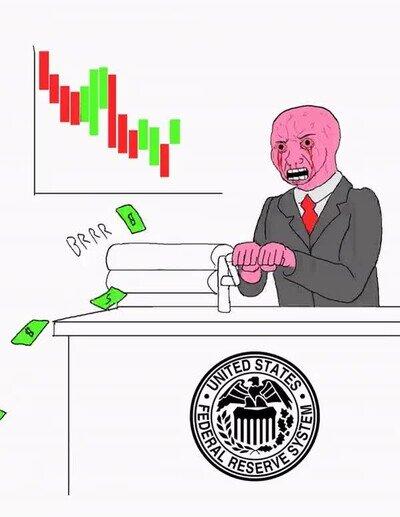 Enlace a La reserva federal de Estados Unidos creando dinero