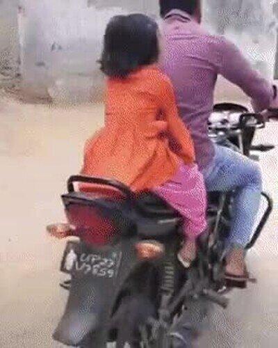 Enlace a Bajar de la moto like a boss