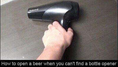 Enlace a Cómo abrir un botellín de cerveza sin abridor
