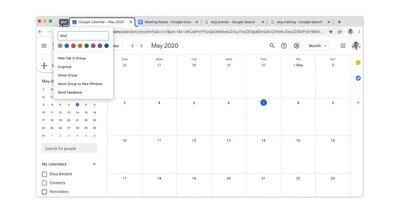 Enlace a Ahora las pestañas de Chrome se pueden colorear y agrupar