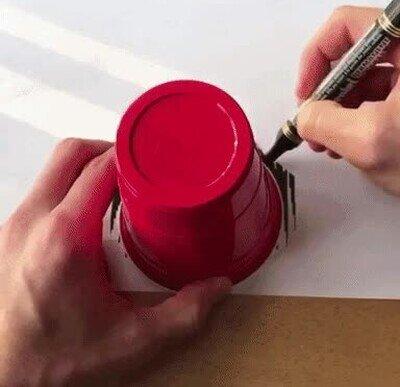 Enlace a Tremendo currazo, ilusión óptica de un cubo girando