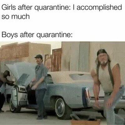Enlace a Todos los tíos tras la cuarentena