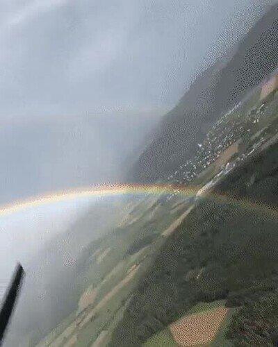 Este arcoiris nunca termina