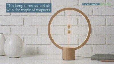 Enlace a Lámpara que se activa mediante balance magnético