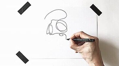 Enlace a Un dibujo mortal sin despegar el rotulador del papel ni una sola vez