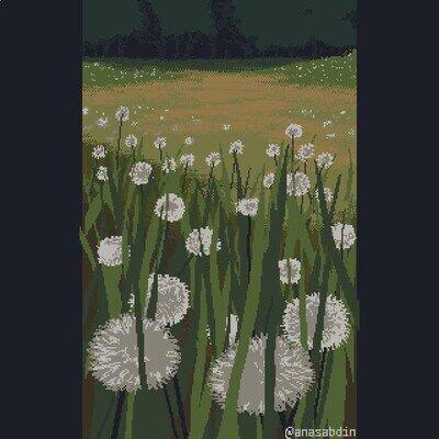 Enlace a Dibujos con pixel art que te traen un poco de calma