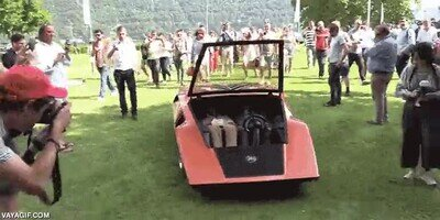 Enlace a El Lancia Stratos HF Zero es uno de los coches más bajos del mundo