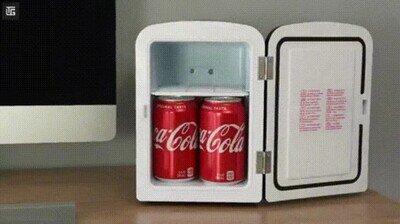 Enlace a Necesito una de estas para mis bebidas frías en la oficina