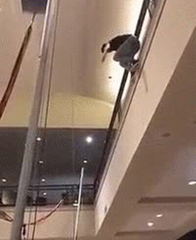 Enlace a No fue una buena idea saltar sobre el trampolín desde tan alto