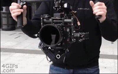 Enlace a Es una pasada ver cómo funcionan los estabilizadores de cámara