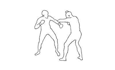 Enlace a Esta animación de una pelea es simplemente espectacular