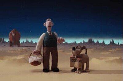 Enlace a Mi escena favortia de Wallace and Gromit