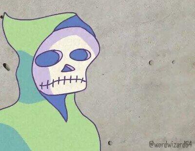 Enlace a Recuerda llevar una máscara para parar la transmisión. Por Wordwizard64