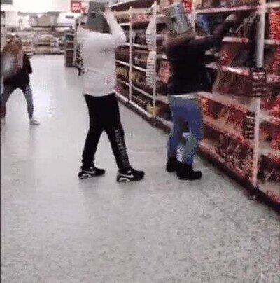 Enlace a Truco para trollear a la gente en el supermercado