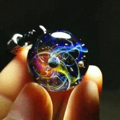 Enlace a Una pequeña galaxia entre tus dedos