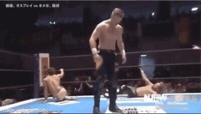 Enlace a La lucha libre japoensa es simplemente alucinante