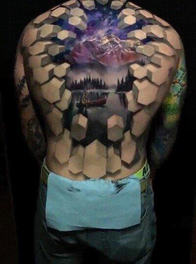 Enlace a Este tatuaje es simplemente una pasada