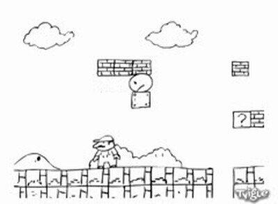 Enlace a Así sería Mario si se fusionara con Pac-Man