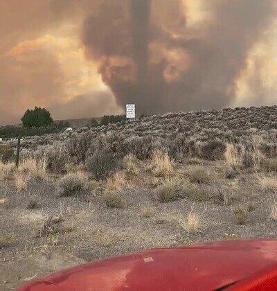 Enlace a Puede ser aterrador cuando ves por primera vez un tornado